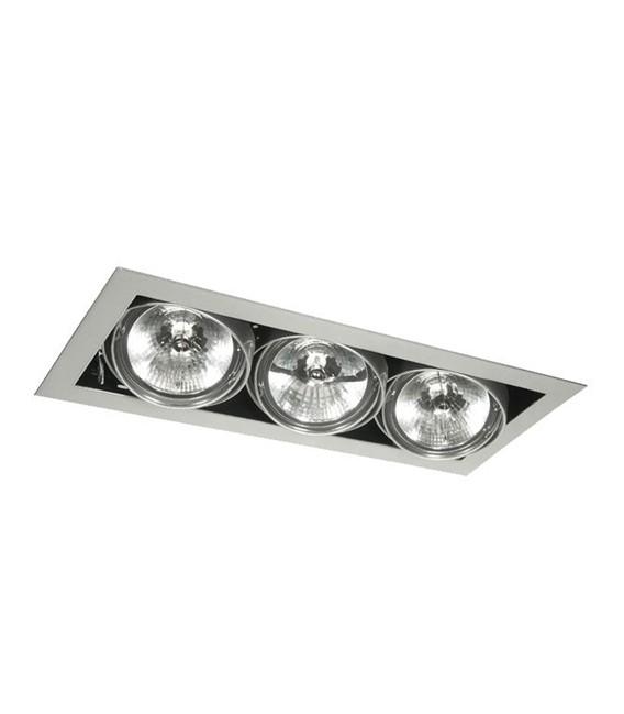 PLAFONIERA LED DA INCASSO 36W (3X12W) AR111