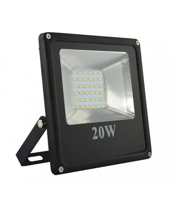 LED PROIETTORE 20W SMD SOTTILE 220VAC