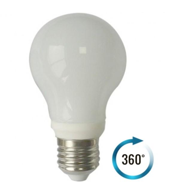 LAMPADINA LED BULBO TOTAL GLASS 7W E27 360°