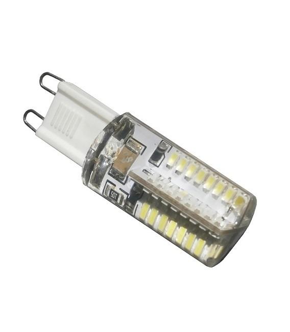 LAMPADA LED 6W SILICONE 360° G9