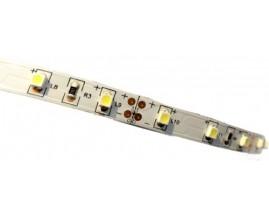 STRISCIA LED 3528-60LED/MT 5mt 12V IP20 NON RESINATO BIANCA