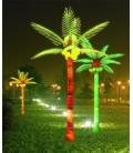 PALMA A LED H.5,00m a 12 foglie  - 220VAC