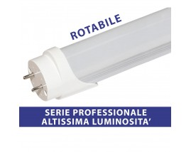 TUBO LED 9W 60CM T8 RUOTABILE