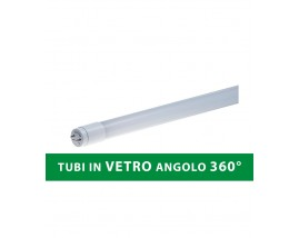 TUBO LED IN VETRO 9W 60CM 360° T8