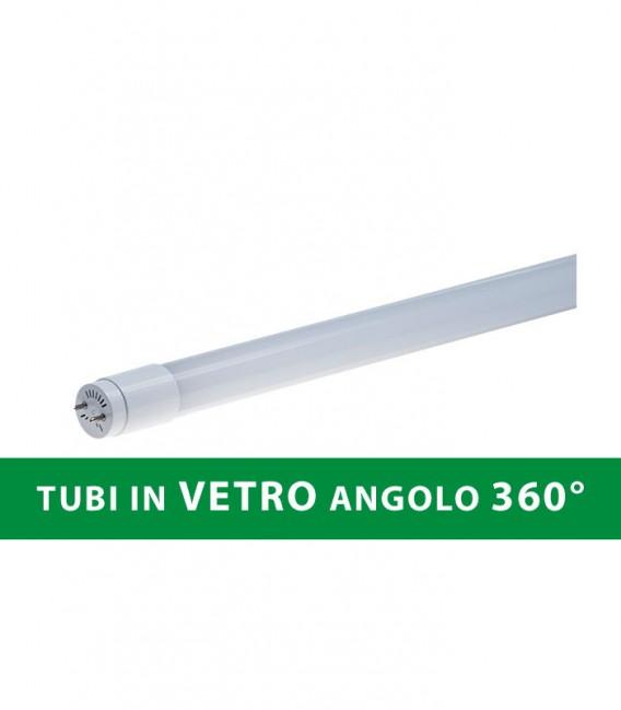 TUBO LED IN VETRO 18W 120CM 360° T8
