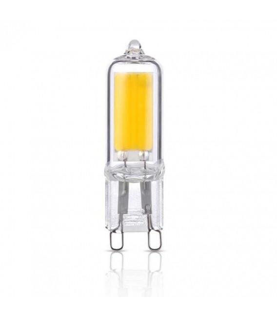 LAMPADA LED 3,5W VETRO 360° 220VAC G9