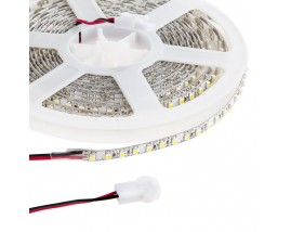 STRISCIA LED 2835-192LED/MT 5mt 18W 24V IP65 (SPRAY) Luce BIANCA