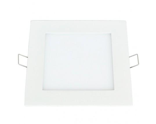 Plafoniera Led Slim Quadrata : Plafoniera led slim quadrata vetrineinrete prometeo electronics