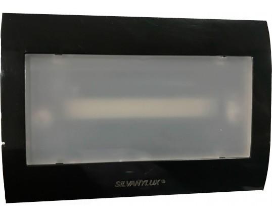 Plafoniera Con Emergenza Incorporata : Segnapasso led cassetta con lampada di emergenza integrata