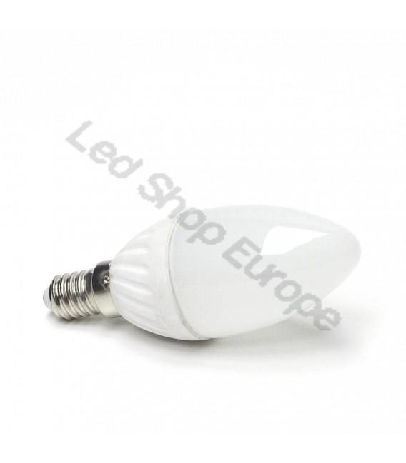Lampadina LED 4,5W E14 a Candela